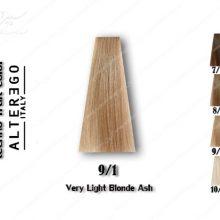 رنگ مو تکنو بلوند خاکستری خیلی روشن 9.1