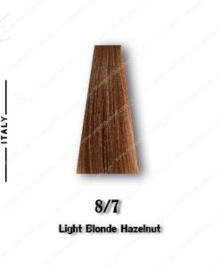 رنگ مو تکنو بلوند فندوقی روشن 8.7