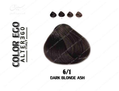 رنگ مو کالراگو بلوند خاکستری تیره 6.1
