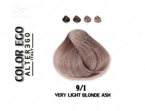 رنگ مو کالراگو بلوند خاکستری خیلی روشن 9.1