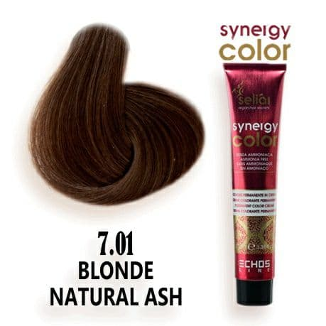 رنگ مو فاقد آمونیاک دودی طبیعی 7.01 اچ اس لاین
