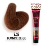 رنگ مو فاقد آمونیاک بژ سینرژی 7.32 اچ اس لاین