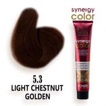 رنگ مو فاقد آمونیاک طلایی مسی تیره 6.34 اچ اس لاین